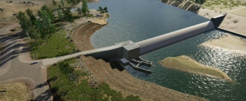 Rookwood Weir in-river construction kicks off