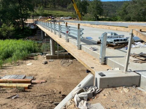 New Paynes Crossing Road Bridge replacement complete