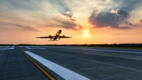 Sydney Airport's east-west runway is back up-and-running