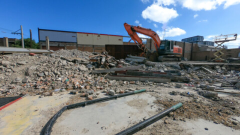 WA using recycled demolition material for new roads