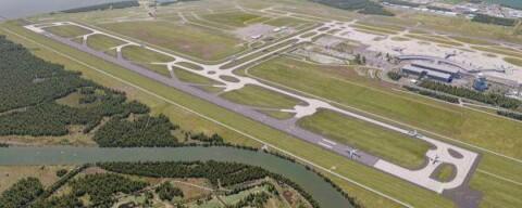 Milestone celebration for Brisbane Airport runway
