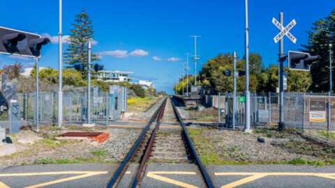 New stations and elevated rail for Perth level crossing removal