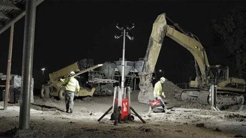Lighting the industrial job site
