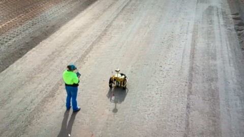 Tiny Surveyor increases safety for Central Darling Shire Council